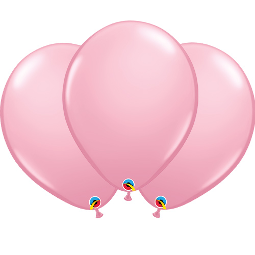 Pale Pink Latex Qualatex Balloons 40cm / 16 in - Pack of 50 Product Image