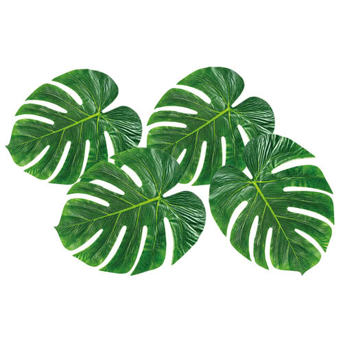 Palm Leaves Decorations 33cm - Pack of 4