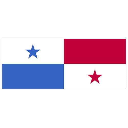 Panama Flag PVC Party Sign Decoration 60cm x 24cm Product Image
