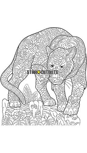 Panther Design Colour Craft Star Mini Cardboard Cutout 83cm Product Image