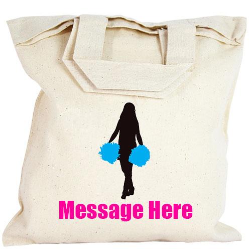 Personalised Party Bag - Blue Cheerleader