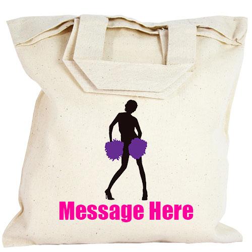 Personalised Party Bag - Purple Cheerleader