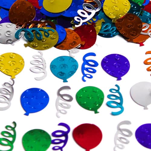 Party Balloons Table Confetti - 14 Grams