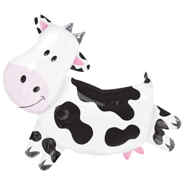 Party Cow Helium Foil Giant Balloon 76cm / 30 in