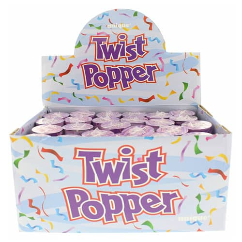 Party Popper Confetti Shooter - 4 Inches / 10cm - Pack Of 24 Product Image