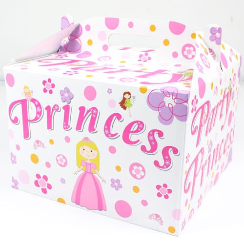 Party Princess Carry Handle Balloon Box Product Image