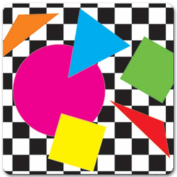 Party Shapes Drink Coasters - Pack of 8