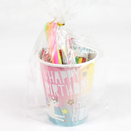 Party Time Unicorn Toy And Candy Cup Product Image