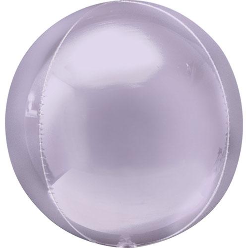 Pastel Lilac Orbz Foil Helium Balloon 38cm / 15 in