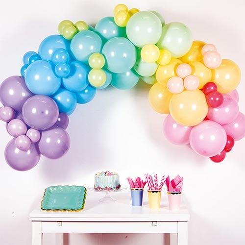 Pastel Rainbow DIY Garland Balloon Arch Kit