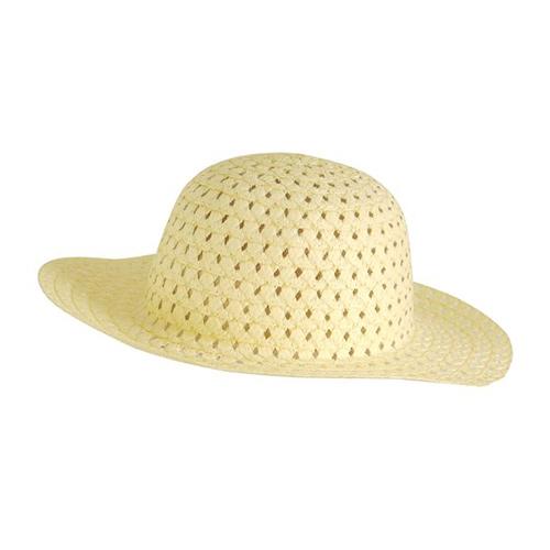 Pastel Yellow Easter Bonnet Children Fancy Dress Product Image