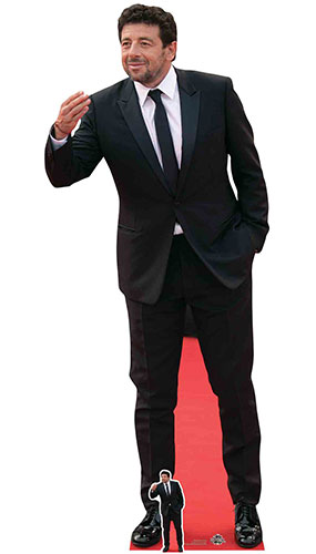 Patrick Bruel Suit Lifesize Cardboard Cutout 180cm Product Image