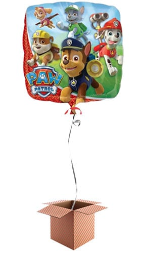 Paw Patrol Foil Balloon - Inflated Balloon in a Box Product Image
