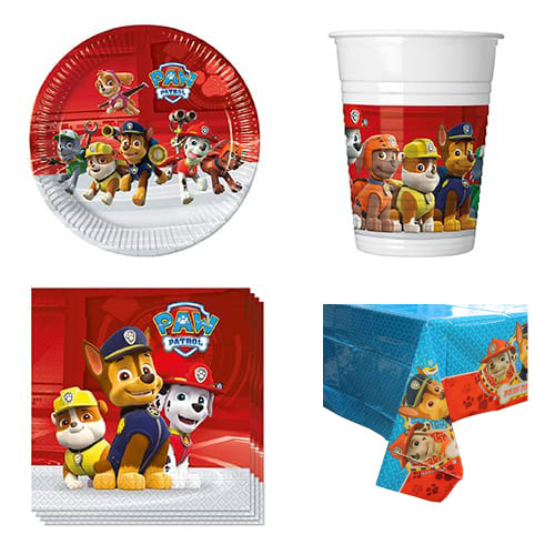 Paw Patrol Theme 8 Person Value Party Pack
