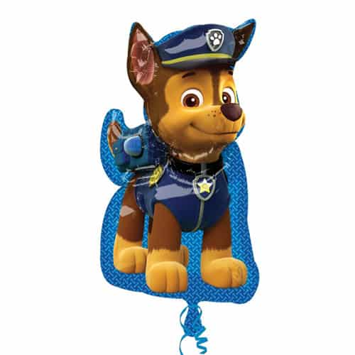 Paw Patrol Chase Helium Foil Giant Balloon 78cm / 31 in Product Image