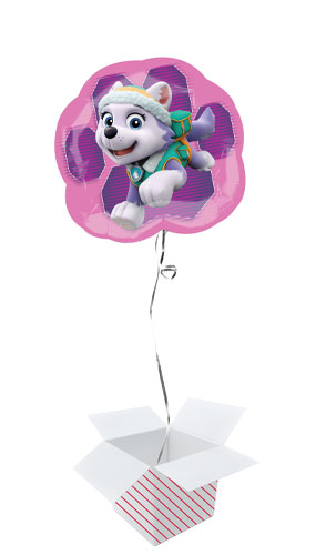 Paw Patrol Pink Skye And Everest Helium Foil Giant Balloon - Inflated Balloon in a Box Product Gallery Image
