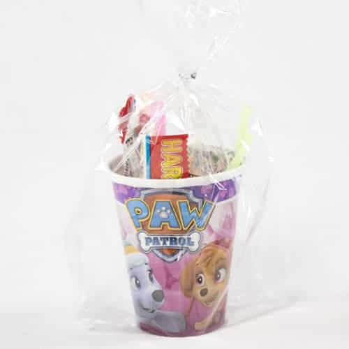 Paw Patrol Pink Toy And Candy Cup Product Image