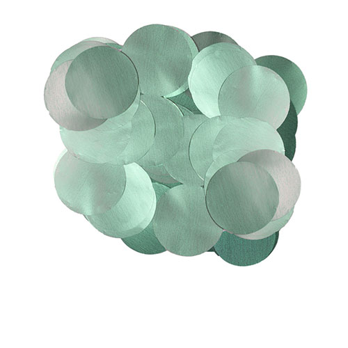 Pearl Baby Blue 10mm Round Foil Table Confetti 50g