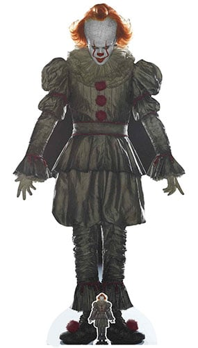 Pennywise The Dancing Clown IT Lifesize Cardboard Cutout 192cm