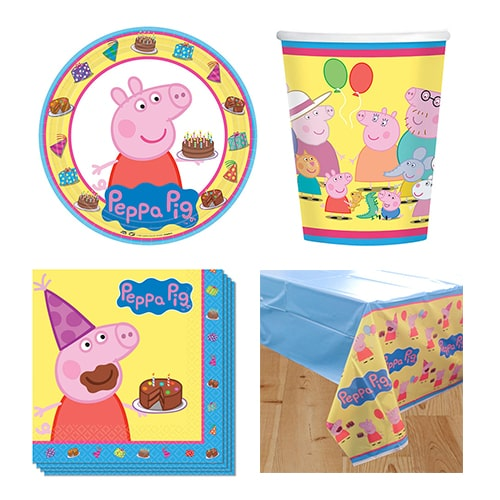 Peppa Pig 8 Person Value Party Pack