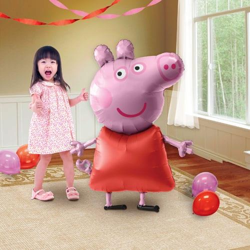 Peppa Pig Airwalker Foil Balloon 121cm / 48 Inch Product Image