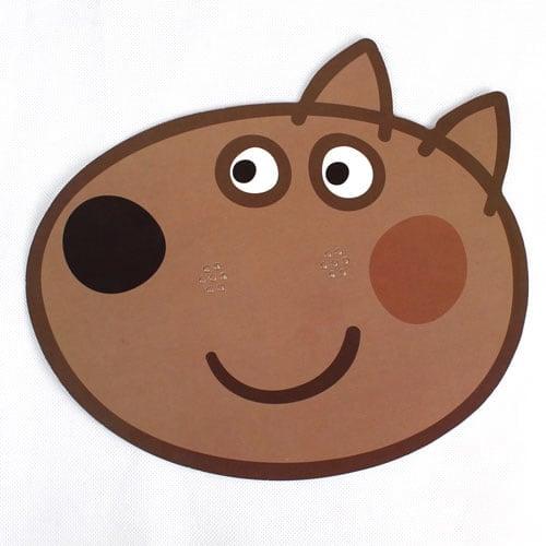 Peppa Pig Danny Dog Cardboard Face Mask Product Image