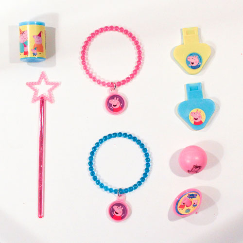 Peppa Pig Mix Favours And Toys - Pack of 48 Product Image