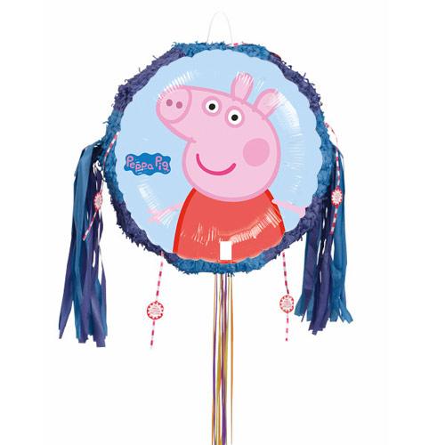 Peppa Pig Pull String Pinata
