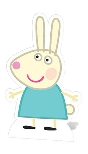 Peppa Pig Rebecca Rabbit Lifesize Cardboard Cutout - 83cm Product Image