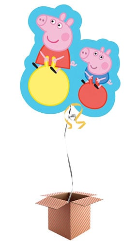 Peppa Pig Helium Foil Giant Balloon - Inflated Balloon in a Box Product Image
