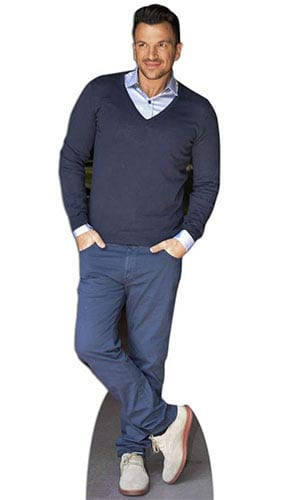 Peter Andre Lifesize Cardboard Cutout - 175 cm Product Image