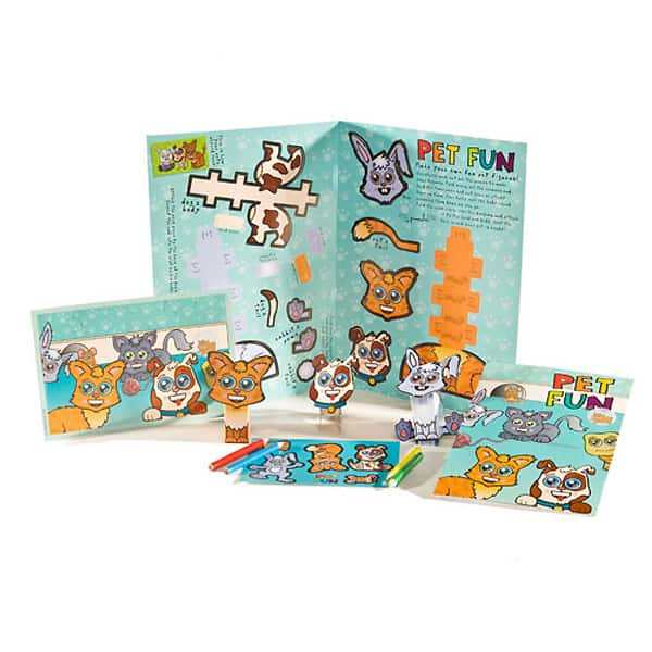 Pets Kids Activity Party Pack Product Image
