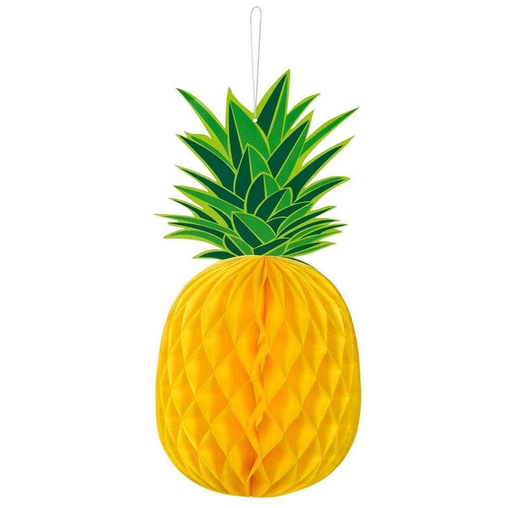 Pineapple Honeycomb Hanging Decoration 30cm