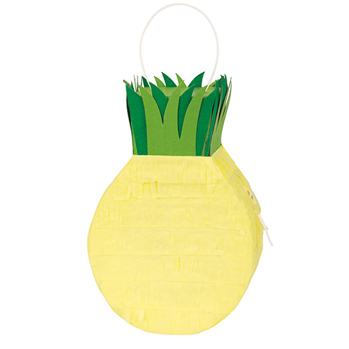 Pineapple Mini Pinata Decoration 22cm Product Image