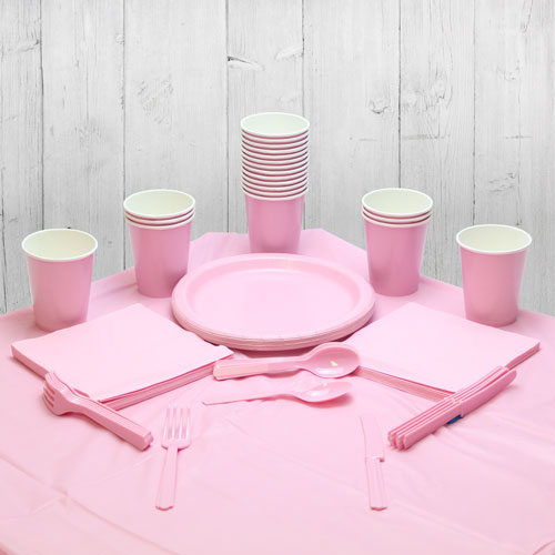 Pink 14 Person Party Pack Product Image