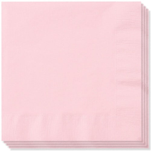 Pink 2 Ply Napkins - 40cm - Pack of 100