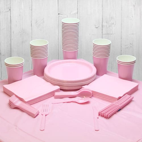 Pink 54 Person Party Pack