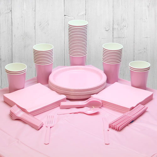 Pink 56 Person Party Pack Product Image