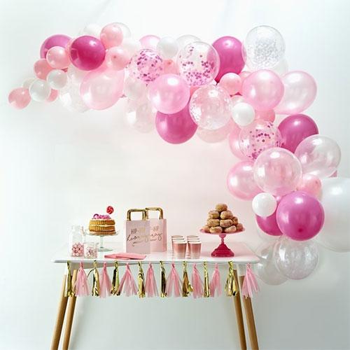 "10/"" PINK//SILVER//GOLD PLAIN LATEX BALLOONS-BIRTHDAY WEDDING PARTY DECORATION UK"