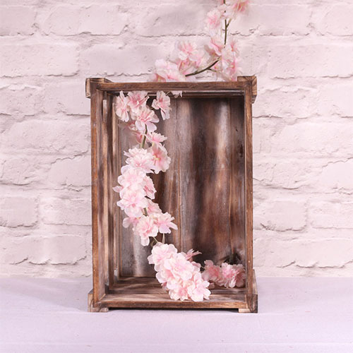 Pink Blossom Artificial Silk Flowers Garland 210cm Product Gallery Image