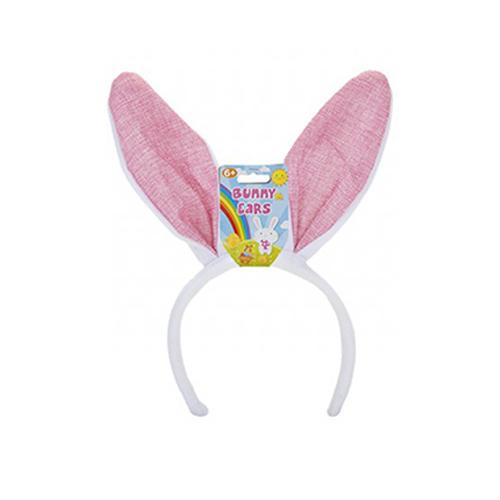 Pink Bunny Ears Easter Headband Fancy Dress