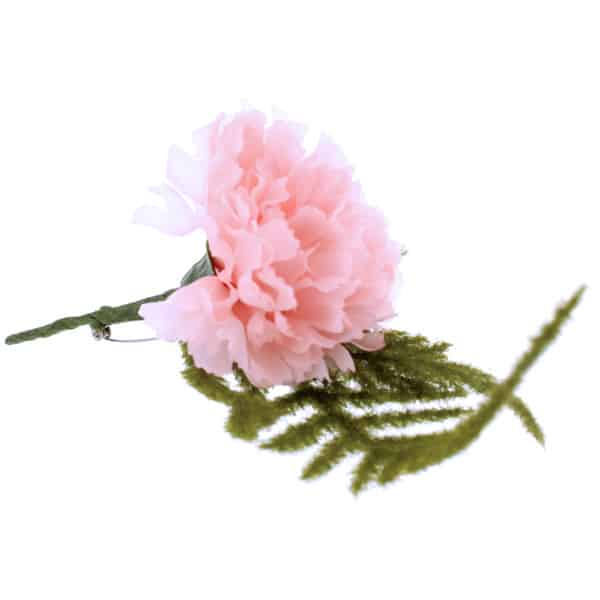 Pink Button Hole Fabric Carnation Product Image