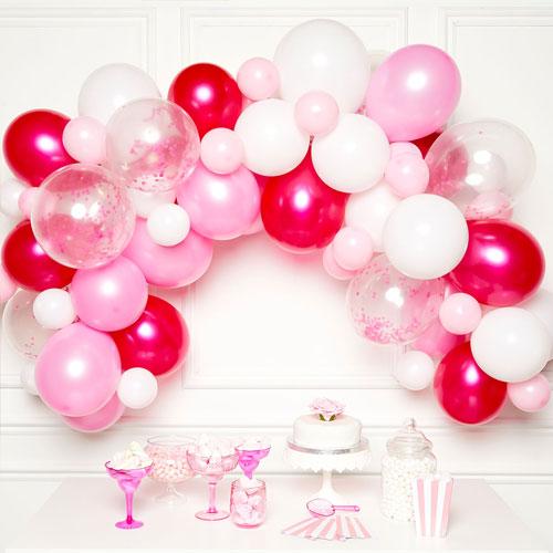 Pink DIY Garland Balloon Arch Kit