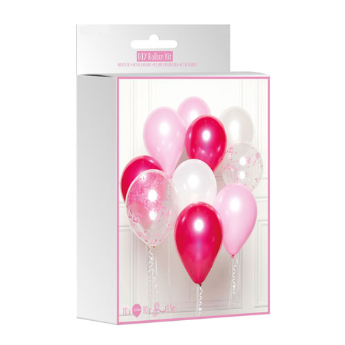 Pink DIY Latex Balloon Kit Product Gallery Image