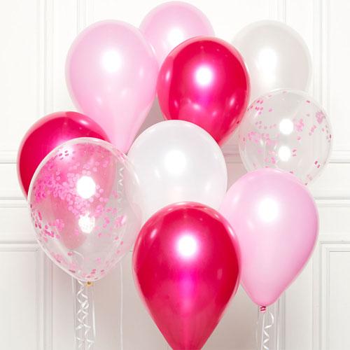 Pink DIY Latex Balloon Kit Product Image
