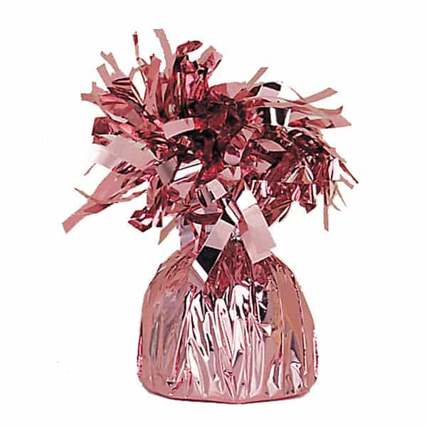 Pink Foil Balloon Weight Product Image