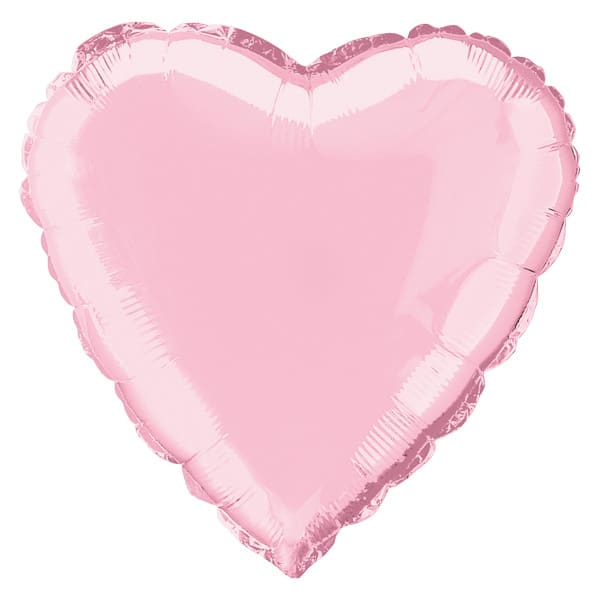 Pink Heart Foil Helium Balloon 46cm / 18 Inches Bundle Product Image