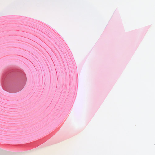Pink Satin Faced Ribbon Reel 45mm x 91m Product Image