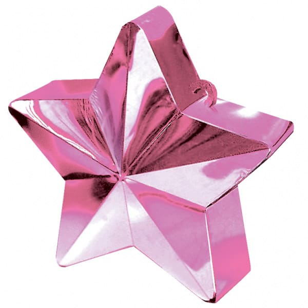 Pink Star Balloon Weight Product Image