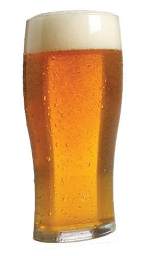 Pint of Beer Lifesize Cardboard Cutout - 182cm Product Image